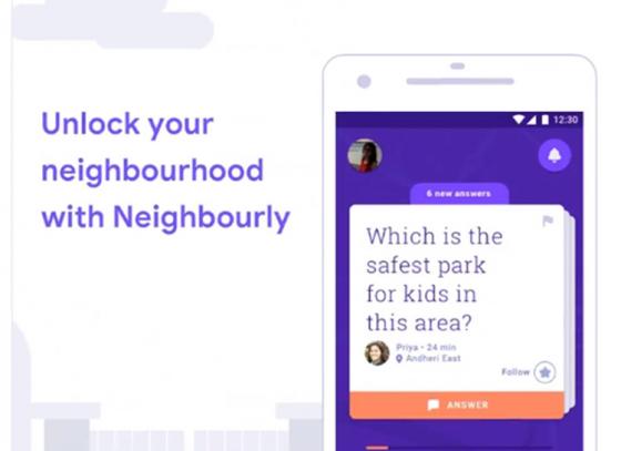 Unlock your neighbourhood with Neighbourly