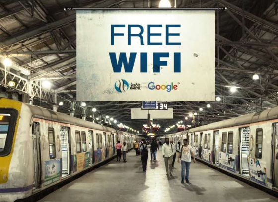 Free WiFi on trains