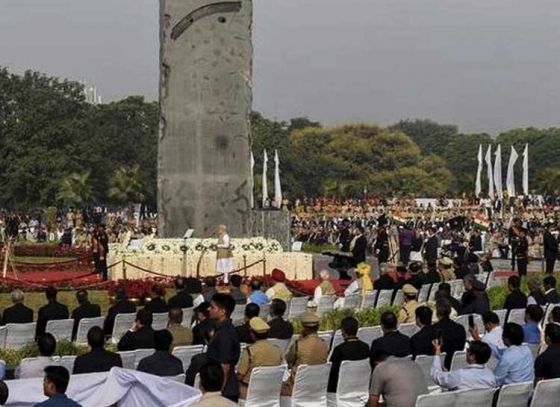 National Police Memorial inaugurated by PM