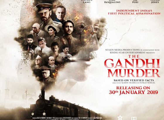 Stephen Lang is a part of `The Gandhi Murder'