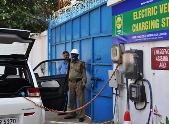 Charging Stops For E-Vehicles