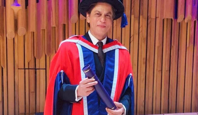 SRK honoured again!