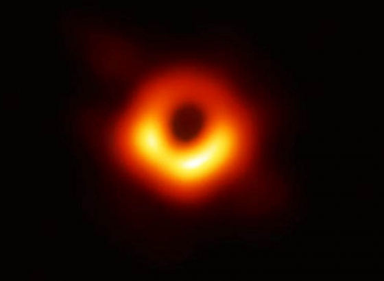 First ever image of a black hole unveiled