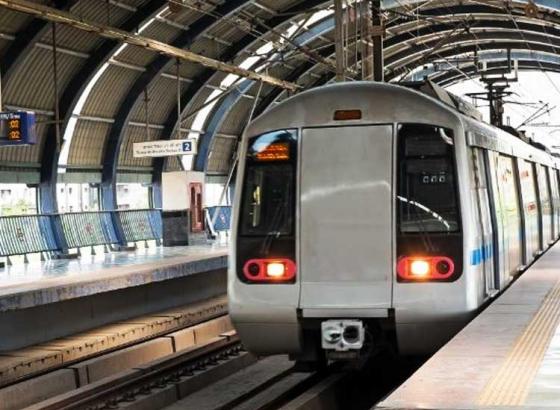 Delhi Metro To Run On Sun