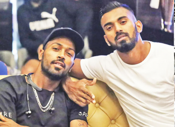 BCCI fines Hardik Pandya and KL Rahul for their comment on a TV Show