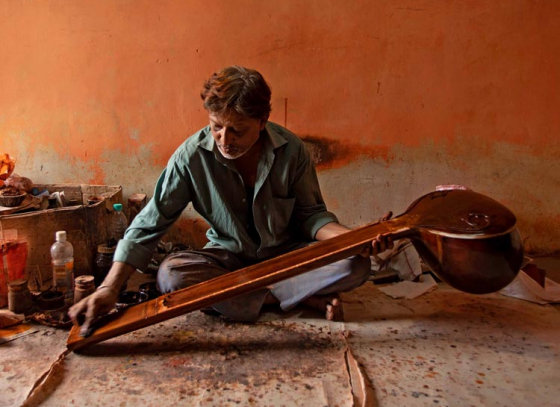 Age No Bar for Making Quality String Instruments