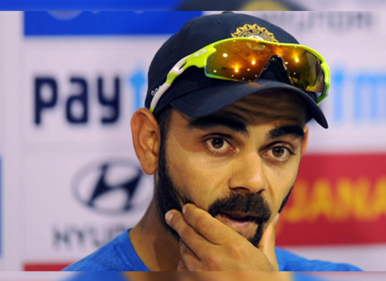 Virat Kohli fined for using drinking water to wash car