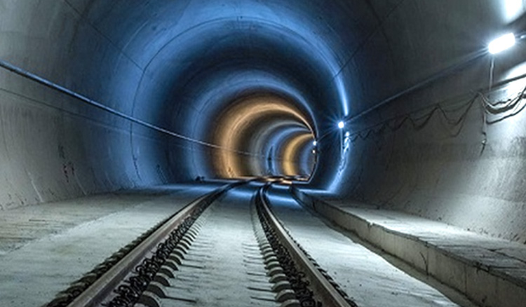 India's Longest Horse Shoe Shaped Railway Tunnel