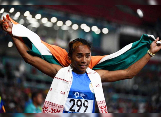 Hima Das's 5th Gold