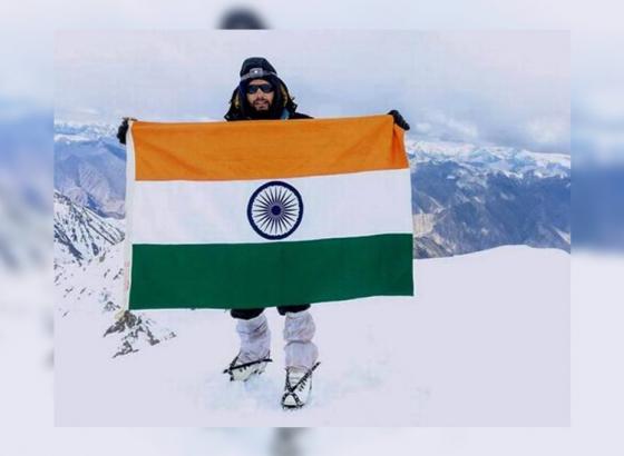 Tukaram conquers Europe's highest peak