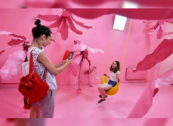 Budapest's new 'Selfie Museum' is a hit among the social media savvy generation