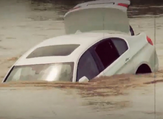 Angry Haryana Youth Pushes Luxury BMW in River After Father Denies His New Jaguar Car Request