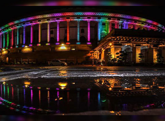 New lighting system installed in Parliament