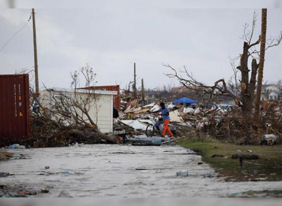 Hurricane Dorian wrecks Bahamas
