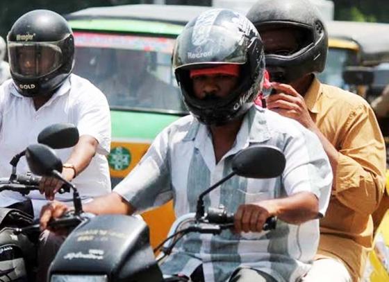Bengaluru-based mechanical engineer designs AC helmet for rider's comfort