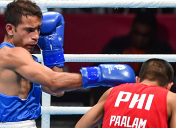 Amit Panghal Enters Quest For Gold
