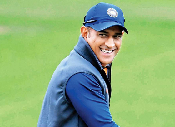 Dhoni is Just Behind Modi