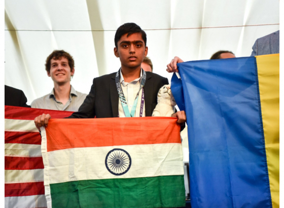 Bengaluru school boy bags gold at the International Maths Olympiad 2019