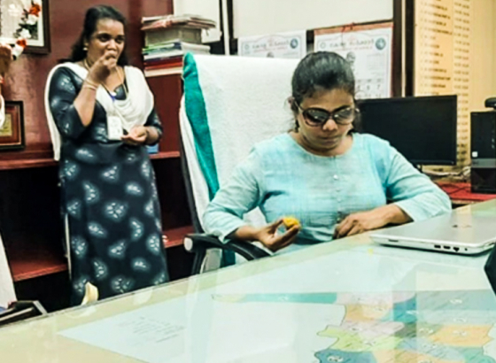 Defying Obstacles Pranjal Patil Takes Charge