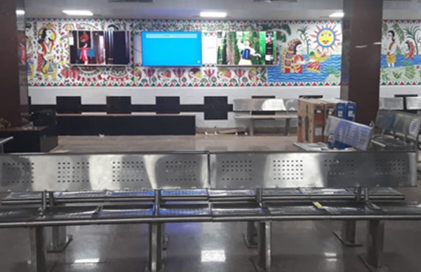 Patna Junction's Waiting Room, A Treat For Commuters