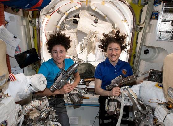 All-Woman Spacewalk Creates History
