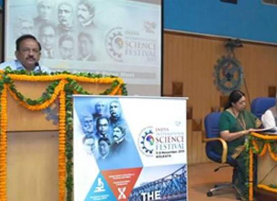 President inaugurates science festival in Kolkata