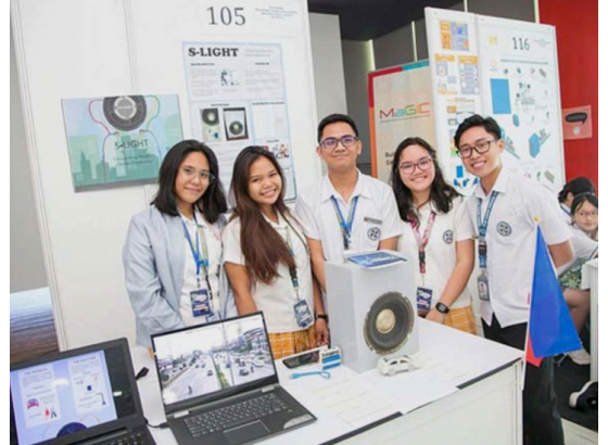 Students convert noise to electricity