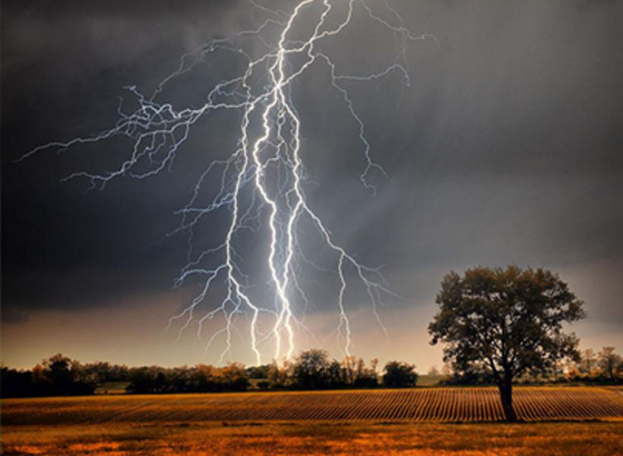 Artificial intelligence can now predict lightning strike