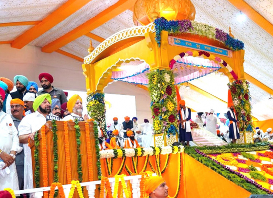 550th birth anniversary of Guru Nanak is celebrated with great fervour
