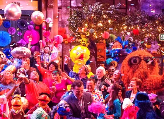 Sesame Street completes 50 years