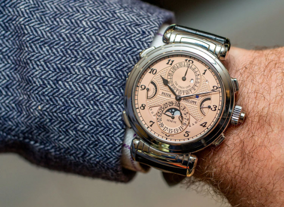 New record set by Patek Philippe as the world's most expensive watch
