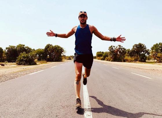 British Marathon runner runs the world