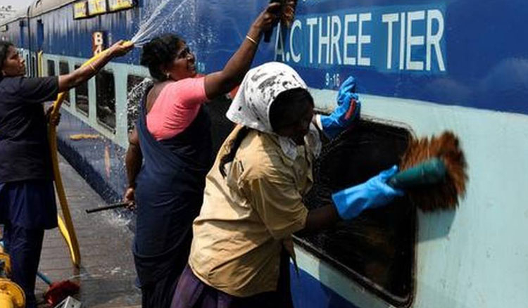 Initiatives taken to improve cleanliness in Indian Railways