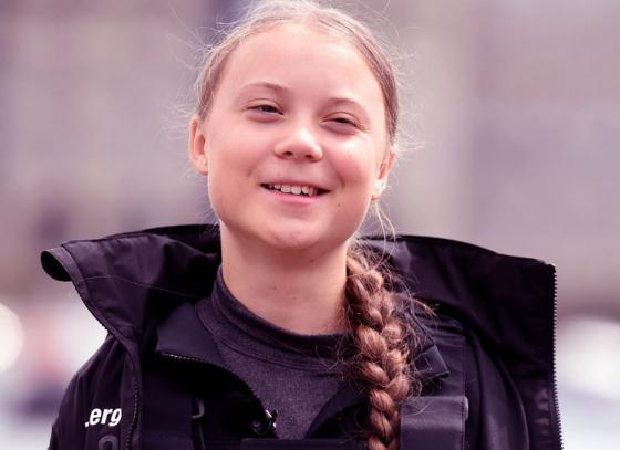 Greta Thunberg a Time Traveller?