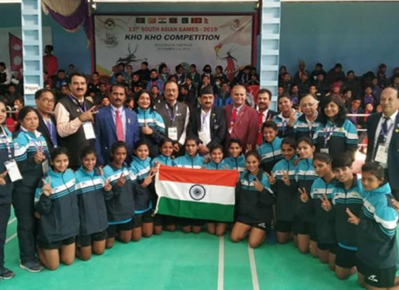 India leads in South Asian Games