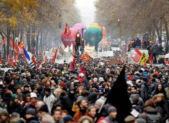 France strikes as Macron pushes ahead with pension reforms