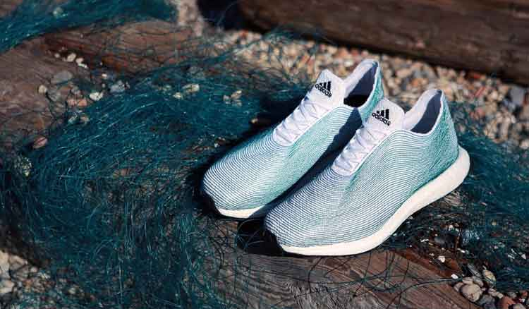 Adidas is manufacturing shoes from ocean waste