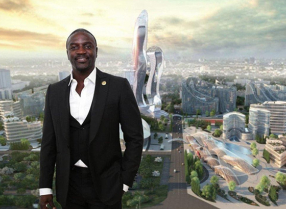 Akon City to be set up at Senegal