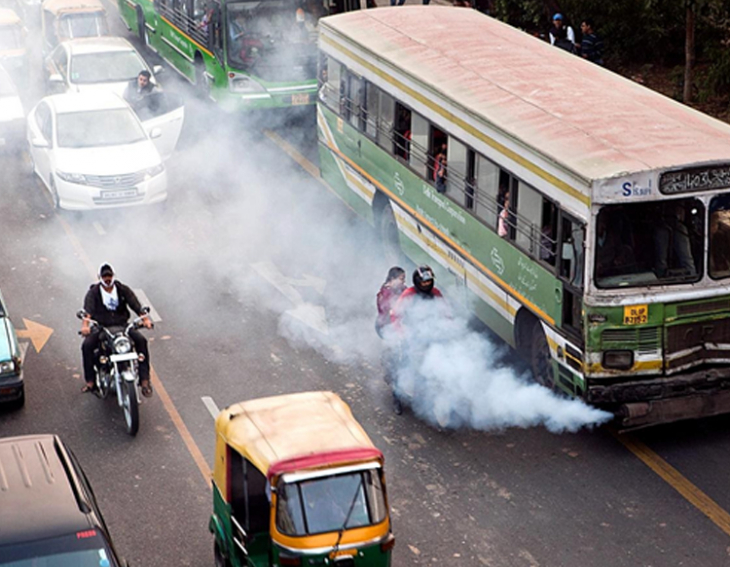 New device for curbing air pollution