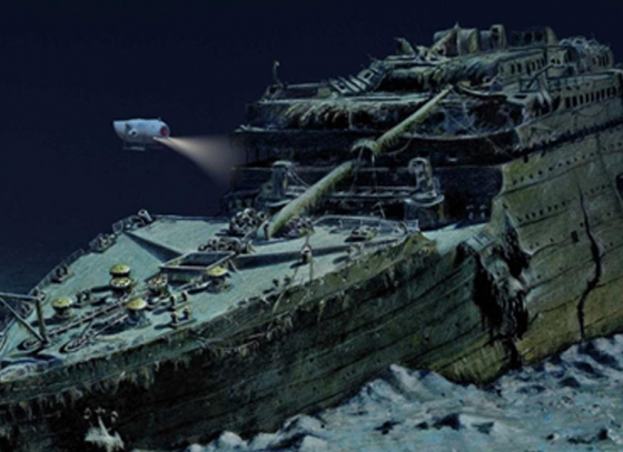 Titanic to disappear soon?