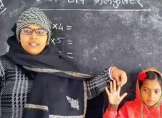 Teacher from Bihar becomes viral