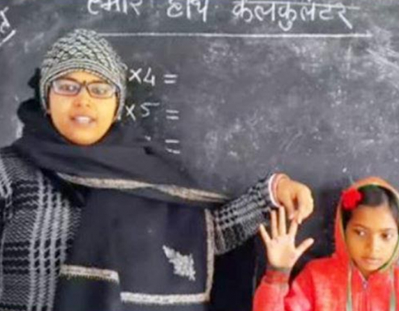Teacher from Bihar becomes viral