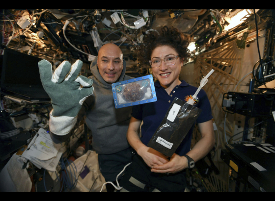 Space cookies: First food baked in space by astronauts
