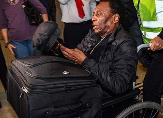 Pele suffers from health problems