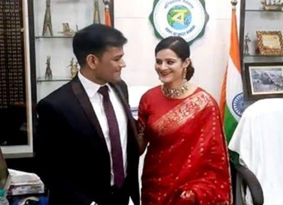 A different wedding in a government office!