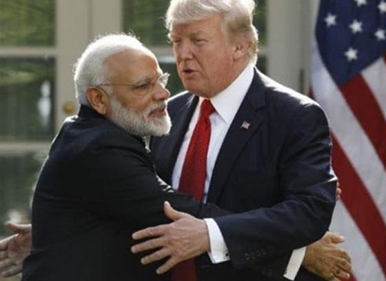 US President calls Modi a great friend!
