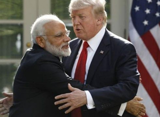 US President calls Modi a great friend!