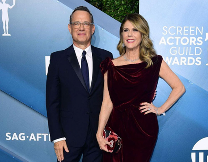 Tom Hanks and his wife tested positive for Coronavirus
